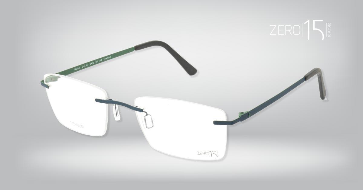 Zero15 brillen: titanium op zijn best | Zeewolde